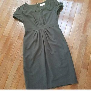 Size 6 grey sheath midi dress